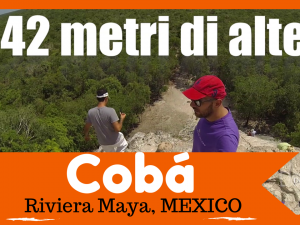 GO DECIBEL ✈ Scalata Piramide Cobá Messico / climbing the Mexican pyramid