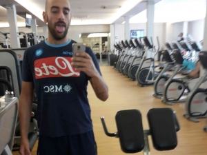 Primo giorno di palestra/First day at the gym
