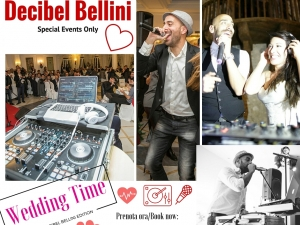 Decibel Bellini Wedding DJ - Matrimoni Speaker/DJ